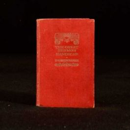 1933 P G Wodehouse The Great Sermon Handicap
