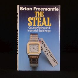 1986 The Steal Brian Freemantle Expose Cold War Espionage Non-Fiction