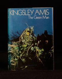 1969 Kingsley Amis First Edition The Green Man Ghost Story Thriller