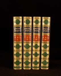 1859-1863 4V Diary and Correspondence of John Evelyn Bray Bayntun Binding Illust
