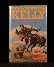 1987 Yellowstone Kelly First Edition Signed Peter Bowen Memoirs Zulu Wars
