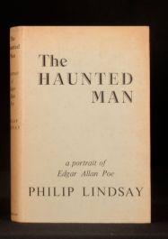 1953 The Haunted Man Edgar Allan Poe Biography Philip Lindsay