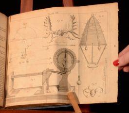 1741 Memoirs of the Royal Society by Mr Baddam Volume X Scarce