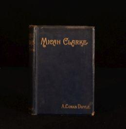 1889 Micah Clarke Arthur Conan Doyle Second Edition