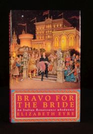 1994 Bravo for the Bride Elizabeth Eyre Signed First Edition Crime Fiction