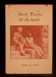 1974 Mark Twain and the South Arthur Pettit Academic Critical Dustwrapper