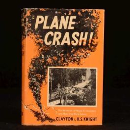 1956 Plane Crash! Mysteries of Major Air Disasters Clayton Knight