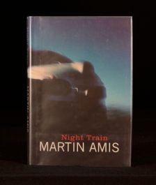 1997 Martin Amis Night Train First Edition in Dustwrapper Thriller Crime