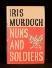 1980 Iris Murdoch Nuns and Soldiers First Edition in Dustwrapper
