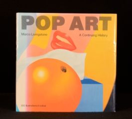 1990 Pop Art A Continuing History First Edition Colour Illustrated Livingstone