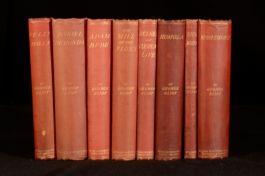 c1880-1895 8vols Novels of George Eliot Adam Bede Middlemarch Illustrated