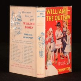 1946 William - The Outlaw By Richmal Crompton Just Illustrated by Thomas Henry