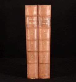 1819 2vol Memoirs of John Evelyn Life Writings Diary Correspondence Charles I
