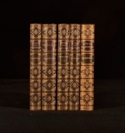 1880-1908 5vols Works of Algernon Charles Swinburne