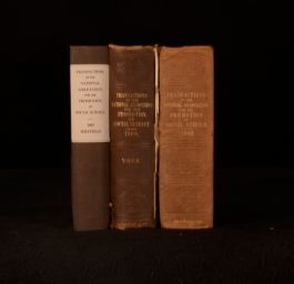 1860-65 3vols Transactions for the Promotion of Social Science Hastings