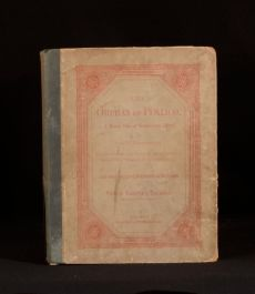1876 The Orphan of Pimlico and Other Sketches William Makepeace Thackeray First