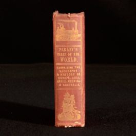 1846 Peter Parley's Tales About the World Hand-Coloured Maps T Wilson