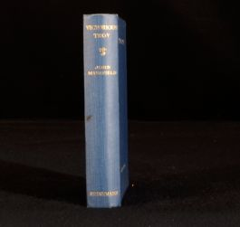 1935 Victorious Troy or the Hurrying Angel by John Masefield First Edition