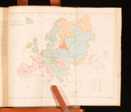 1878 Language And Languages by Rev Frederic Farrar With Fold Out Maps And Table