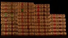 1860-1876 34Vols Cornhill Magazine Victorian Thackeray Hardy Leather Bindings