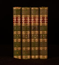 1898 4vol The Wide World Magazine Adventure Travel Illustrated