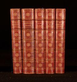 c1880 5 Vol Robert Smith Surtees Illus Handley Cross Ask Mamma Plain or Ringlets