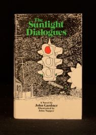 1973 John Gardner The Sunlight Dialogues First British Edition Illustrated