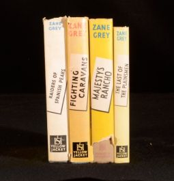 1949-50 4vols A Collection of Four Novels by Zane Grey