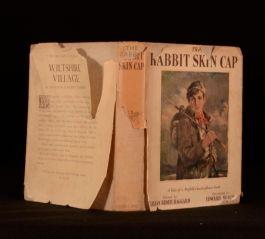 1939 The Rabbit Skin Cap Lilias Rider Haggard in Scarce Dustwrapper First Ed