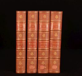 1789 4vol A General History of Music Charles Burney