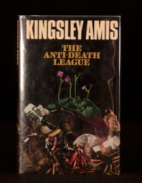 1972 The Anti Death League Kingsley Amis 1st Signed Dustwrapper 2nd Impression