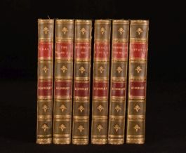 1902-1906 6vol Novels of Charles Kingsley Westward Ho Hypatia Alton Locke