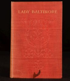 1906 Lady Baltimore Owen Wister Illustrated Bailey Ralph FIRST Edition American