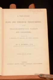 1858 A Treatise on Plane and Spherical Trigonometry J Hymers Fourth edition