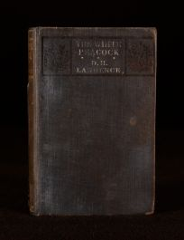 1911 D H Lawrence The White Peacock Novel First Edition