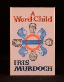 1975 Iris Murdoch A Word Child Dustwrapper First Edition