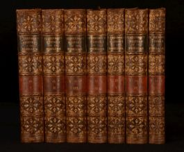 1849 7vol Earl Of Clarendon The History Of Rebellion And Civil Wars In England