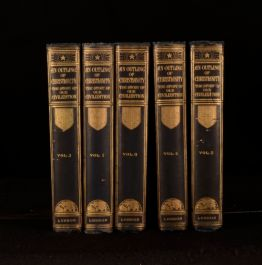 1926 5vol An Outline of Christianity A S Peake R G Parsons Colour Plates
