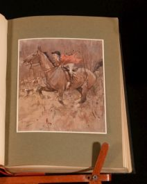 1908 Hunts with Jorrocks by Robert Surtees Illustrated by G. Denholm Armour