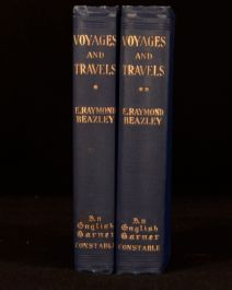 1903 2Vol Voyages and Travels Raymond Beazley Ed