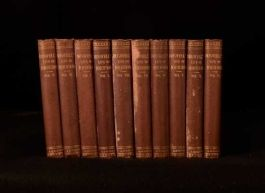 1888 10vols The Life of Samuel Johnson by James Boswell