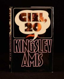 1971 Kingsley Amis Girl, 20 First Edition in Dustwrapper