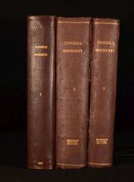 1650 3vol Danielis Sennerti Opera Scarce Latin Science Works Daniel Sennert