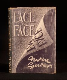 1949 Nadine Gordimer Face to Face First Edition Original Dustwrapper