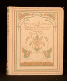 1913 Princess Badoura Arabian Nights Laurence Housman Edmund Dulac Colour Plates