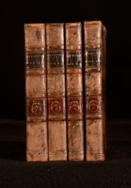 1818 4Vols The Select Works of Lawrence Sterne Complete