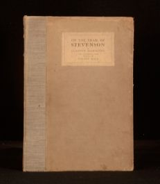 c1915 On the Trail of Stevenson Illustrated Clayton Hamilton Scotland France