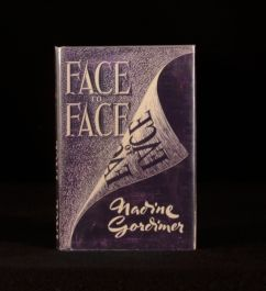 1949 Nadine Gordimer Face to Face Short Stories First Edition Signed