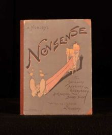 c1920 A Book of Nonsense Written and Illustrated by A Nobody