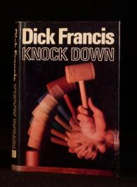 1974 Dick Francis Knock Down First Edition in Dustwrapper Horse Racing